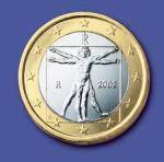 1 euro vitruviano