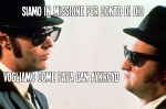 blues brothers e il papa