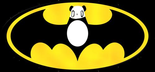 batman panda simbolo