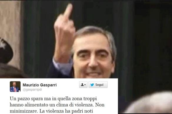 Gasparri e il suo tweet