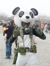 Panda steampunk