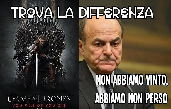 Bersani vs ned Stark 2