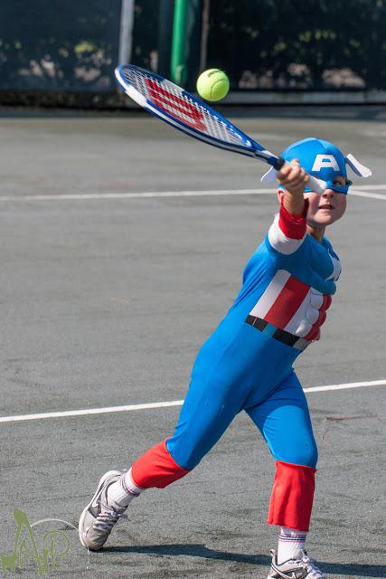 tennis capitan america