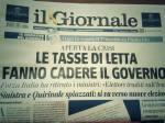 giornale tasse letta