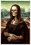 Gioconda scheletro
