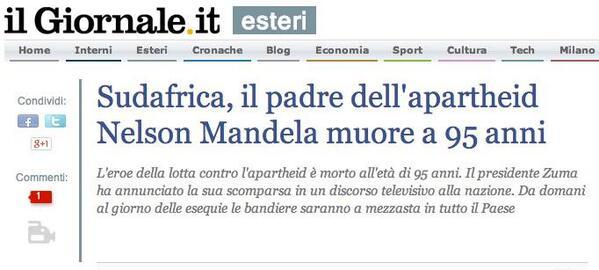 giornale_mandela