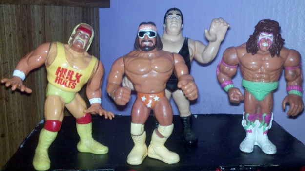 Hulk Hogan Randy Savage Andre The Giant Ultimate Warriror